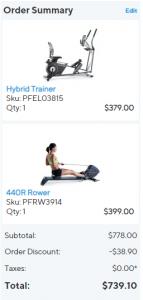 ProForm equipment