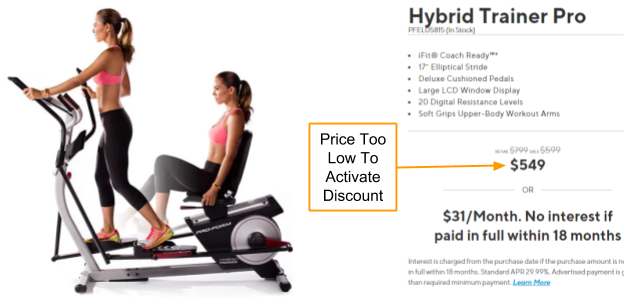 ProForm Hybrid Trainer Pro Coupon And Promo Code