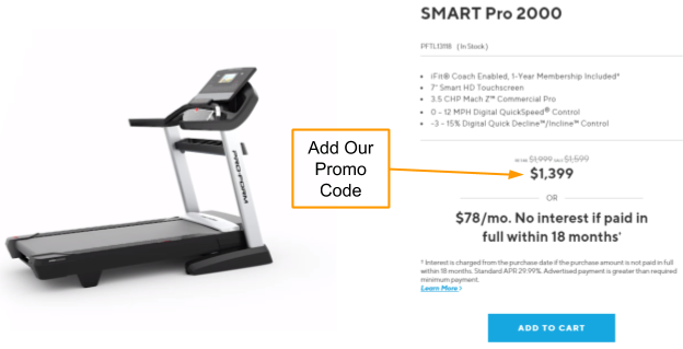 ProForm Pro 2000 Coupon and Promo Code