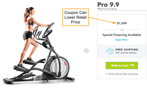 ProForm Pro 9.9 Coupon And Promo Code
