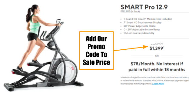 ProForm SMART Pro 12.9 Coupon And Promo Code