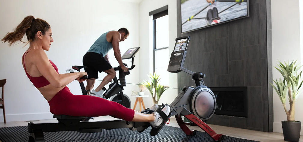 Workout with ProForm Plus Treadmill