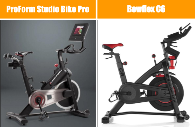 ProForm Studio Bike Pro vs Bowflex C6 Exercise Bike