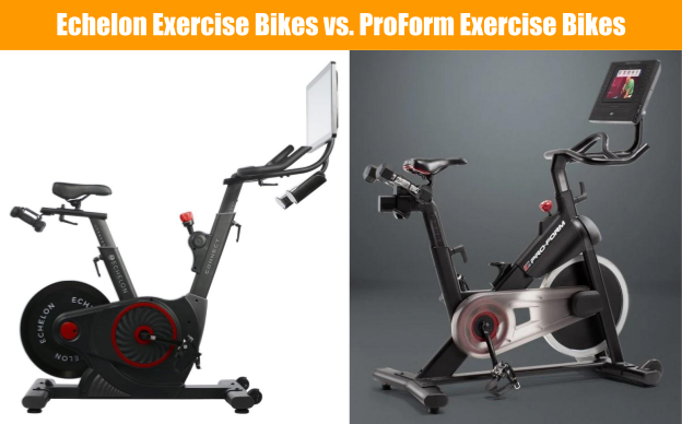 Exercise Bike Comparison Echelon Bikes vs ProForm Bikes