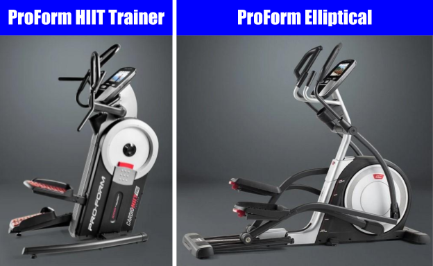 ProForm HIIT Tainer vs Ellliptical - What's The Difference