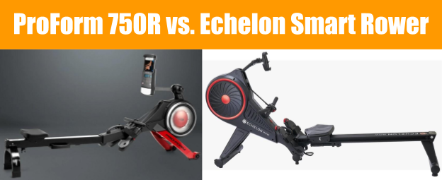 ProForm Rowing Machine vs. Echelon Rower - Rower Comparison